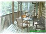 Front porch to enjoy your favorite drink