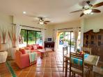 Casita - Living & Dining Area