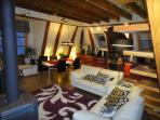 Deluxe 4 bedroom penthouse in medieval Old Town