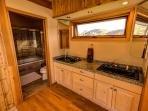 Master Bath has Incredible Views to the North Including Gothic, Snodgrass and the Ski Area.