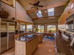 Gourmet Designed, Fully Equipped Kitchen has Everything You Need to Cook for a Crowd!