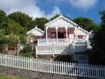 Flamboyant Cottage, Saba - Great View & Pool!