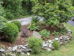 Enjoy the Beautiful Landscaping Around the Cottage.