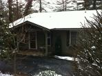 Lakeview Cottage During January.