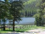 View of Lake From Lodge Deck
