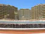 3 BR Condo, Las Palomas Golf Resort on Sandy Beach