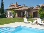 Family Friendly, French Riviera Villa with Pool, Near St Maxime, St Aygulf