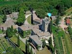 Vacation Farmhouse with 3 Bedrooms in Siena