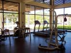 Amazing full Gym Facilities at the Beach Club for your use as a guest.