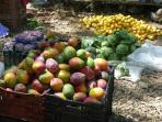 Outdoor markets are great...Enjoy the freshness.