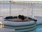 Relax in our Spa - Overflow allow for continuous filtering