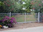 Sliding Gate to Access Yard to Park Boat Trailer