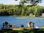 3 bedroom lake home on Crescent lake