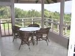 Outdoor Screened Dining Area