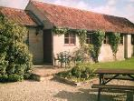 Three, two bedroomed rural cottages near Bath