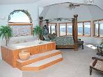 Mountain Suite and Tub Area, a 600 sq ft room