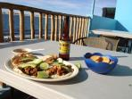 Fish Tacos at the Malecon...yum