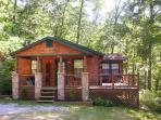 Luxury 2 Bd Cabin on 4 Private Wooded Acres
