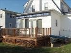 Back Deck with Retractable Awning (closed)