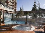 Four Outdoor Hot Tubs, Outer Half of Pool