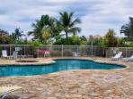 Ground-floor unit, newly renovated, close to pool and white-sand beach.