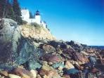 Bass Harbor Lighthouse in nearby Acadia National Park