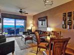 Living Area and Oceanview of our Waikoloa Home