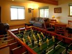 For the young and young at heart, a foosball table!