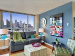 Chic and trendy 21st floor apartment with amazing downtown views!