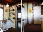 A sweet cottage kitchen...ready for summer fresh food.