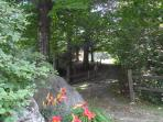 Topnotch Resort Home, Stowe Vermont: Summer Trail Leading to the Mountain View Unit