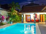 Private Villa 2 Bedrooms in Seminyak Beach at 350m