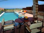Corali villa with beautiful sea and mountain view