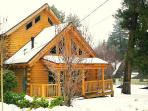Newly Build wood Log Cabin Minutes to Lake Special