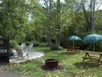 In spite of all the inside amenities, some guests spend most of their time outdoors.
