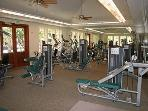 Air conditioned fitness center at Ho'olei