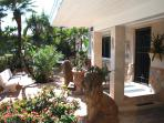 Beach Villa Rental Deerfield Beach, FL. Atlantic Ocean 100 ft.