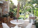 Beach Villa Weekly Vacation Rental Deerfield Beach, FL.  Patio with Private Gourmet Grill