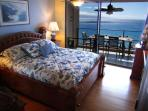Master Bedroom with Balinese Burled King Bed