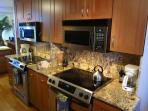 We appointed Kitchen with Stainless Steel Appliances