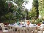 Stone town home, Gascony, Dining-Antiques-Fetes