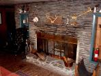Fireplace in 2nd Living Room