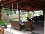 Our Side Patio with Gas Grill