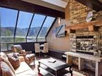 Great room with soaring views