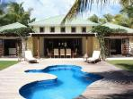 Palm Beach Villa Jolly Harbour, Antigua - Beachfront, Pool, Landscaped Gardens