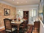 Dining Room Faux Wall Seats 8-12