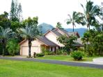 Renovated beautiful house! Best area of Princeville! Just steps to Queen's Bath!