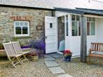 BWTHYN MAWR, pet friendly, luxury holiday cottage, with a garden in Newport, Pembrokeshire, Ref 6163