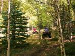 ATV and Hiking Trails on the Ranch, September