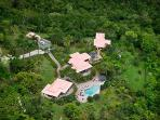 Canefield House at Greenbank Estate, Tortola - Ocean View, Pool, Private Park-Like Setting